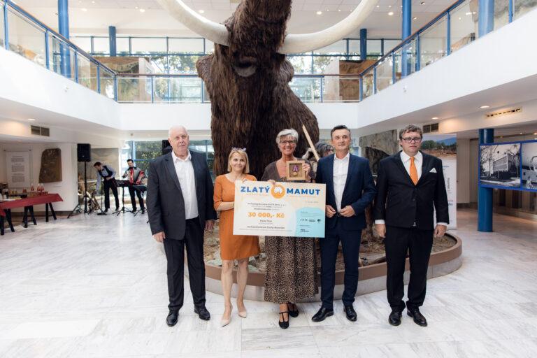 Slavnostní vyhlášení vítězů 2.ročníku ceny Zlatého mamuta